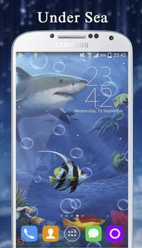 Under Sea - Live Wallpaper poster