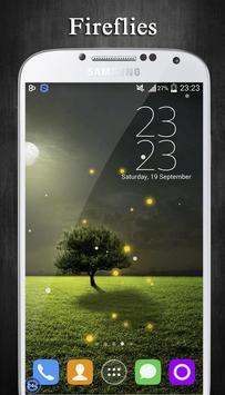 Fireflies Live Wallpaper apk screenshot