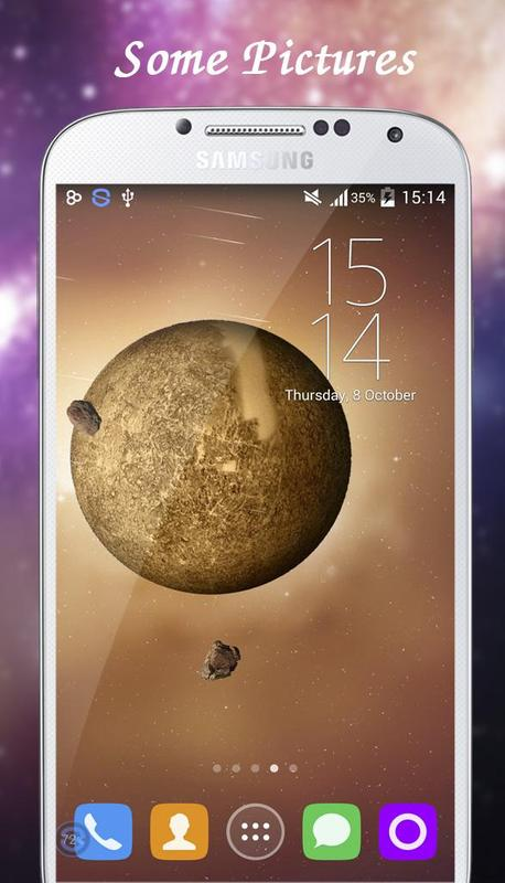 Mercury Live Wallpaper Apk Screenshot