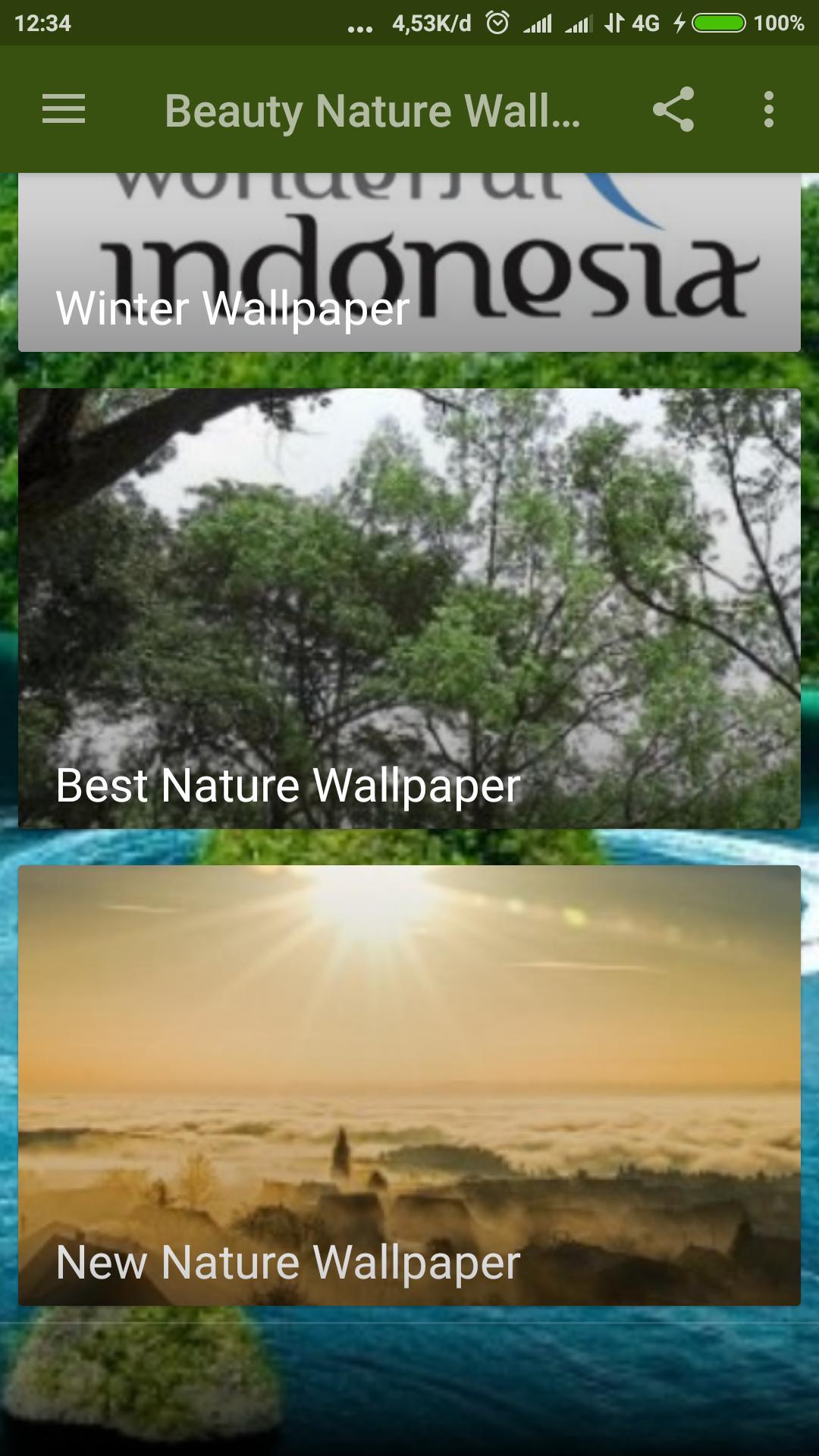 Wallpaper Keindahan Alam For Android APK Download
