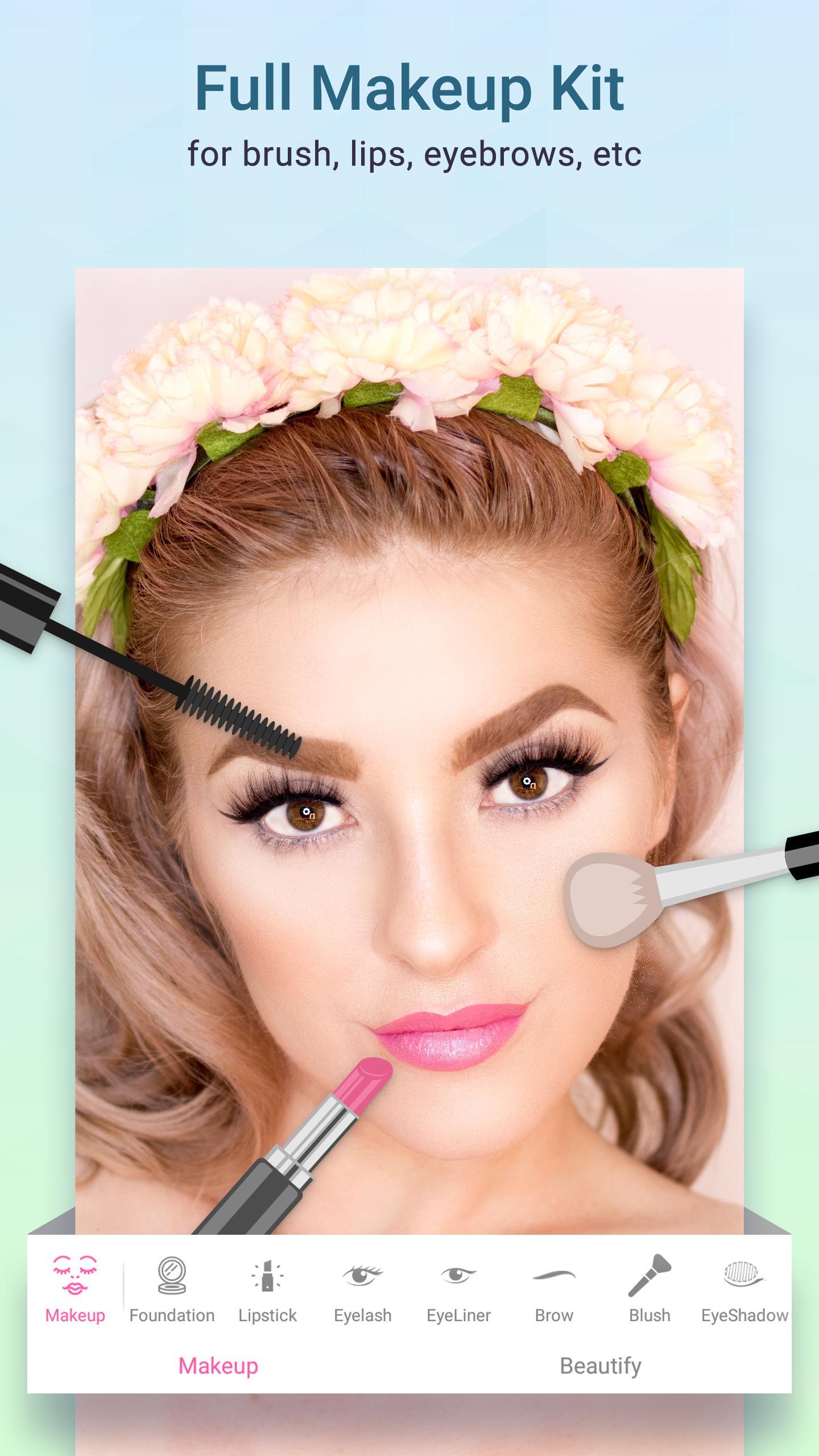31f793a5de5 ... Taha Plus: Face Makeup Camera, Photo Makeup Editor screenshot 10 ...