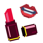 Beauty color by number - sandbox number coloring icon
