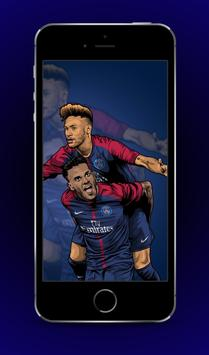 Neymar Jr Wallpapers PSG Poster