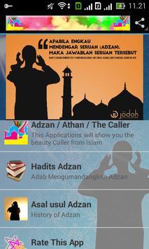 Beautyful Adzan/Athan poster