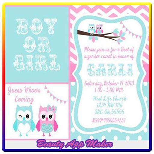 Baby Reveal Invitations poster