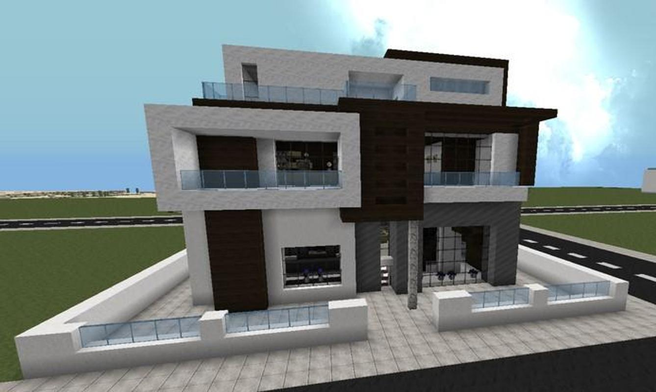 Rumah Modern Minecraft For Android Apk Download