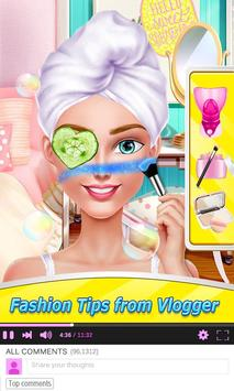 Fashion Blogger - 1 Min Makeup screenshot 1