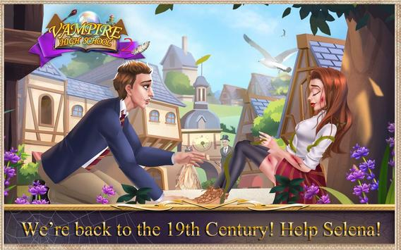 Vampire High School 2: The Witch ❤Love Story Games screenshot 4