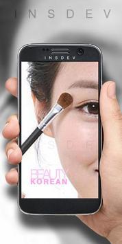 Beauty Korean Makeup poster