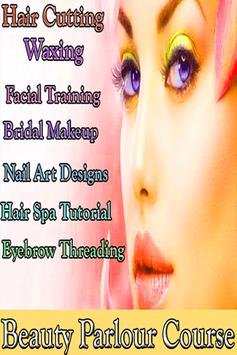 Beauty Parlour Course VIDEOs : Makeup Tips App poster