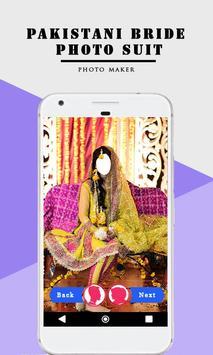 Pakistani Bride Photo Suit poster