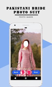 Pakistani Bride Photo Suit screenshot 1