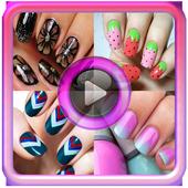 Beauty tutorial:Nail art video icon