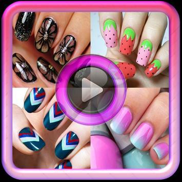 Beauty tutorial:Nail art video poster