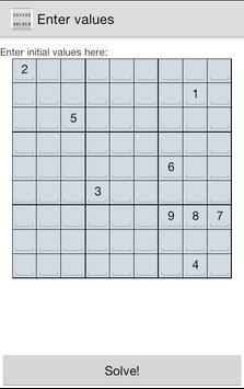 Sudoku Solver poster