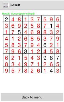 Sudoku Solver screenshot 2