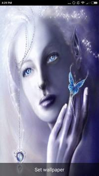 Beautiful Girl Faces Wallpaper screenshot 1