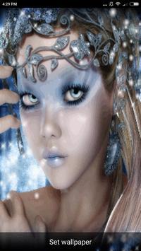 Beautiful Girl Faces Wallpaper screenshot 2