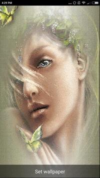 Beautiful Girl Faces Wallpaper screenshot 3
