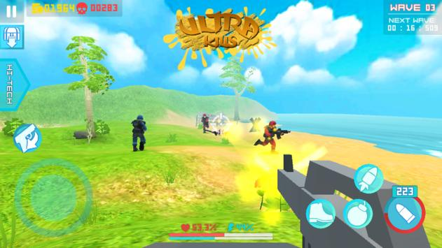 Beachhead Defender: Free 3D Shooting Games (FPS) screenshot 1