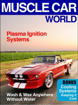 Muscle Car World Magazine poster