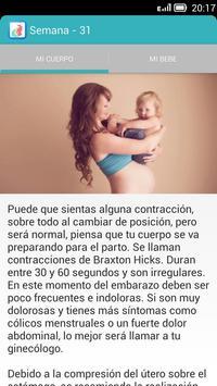 Embarazo Saludable apk screenshot