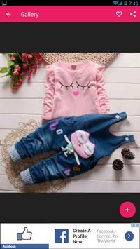 اخر موديلات ملابس الاطفال 2018 screenshot 4