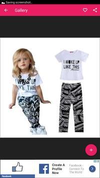 اخر موديلات ملابس الاطفال 2018 screenshot 2