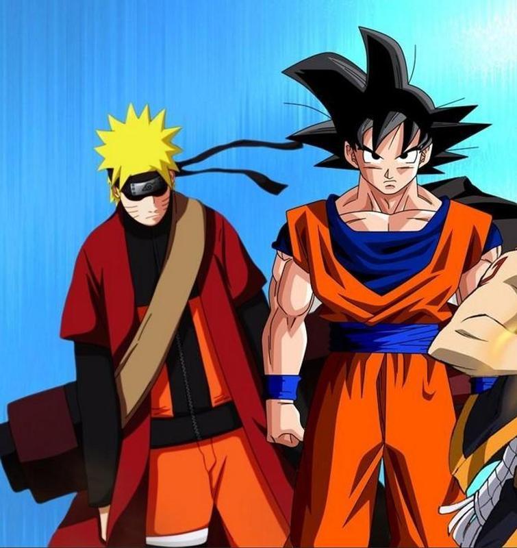 Goku VS Naruto Wallpaper For Android