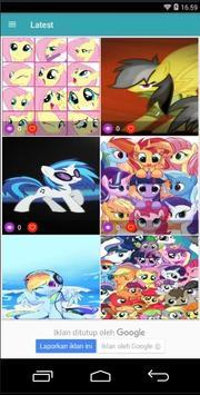 Pony Cool Girls Wallpaper screenshot 1