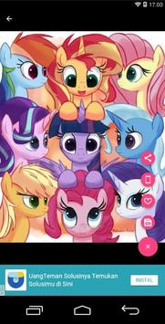 Pony Cool Girls Wallpaper screenshot 2