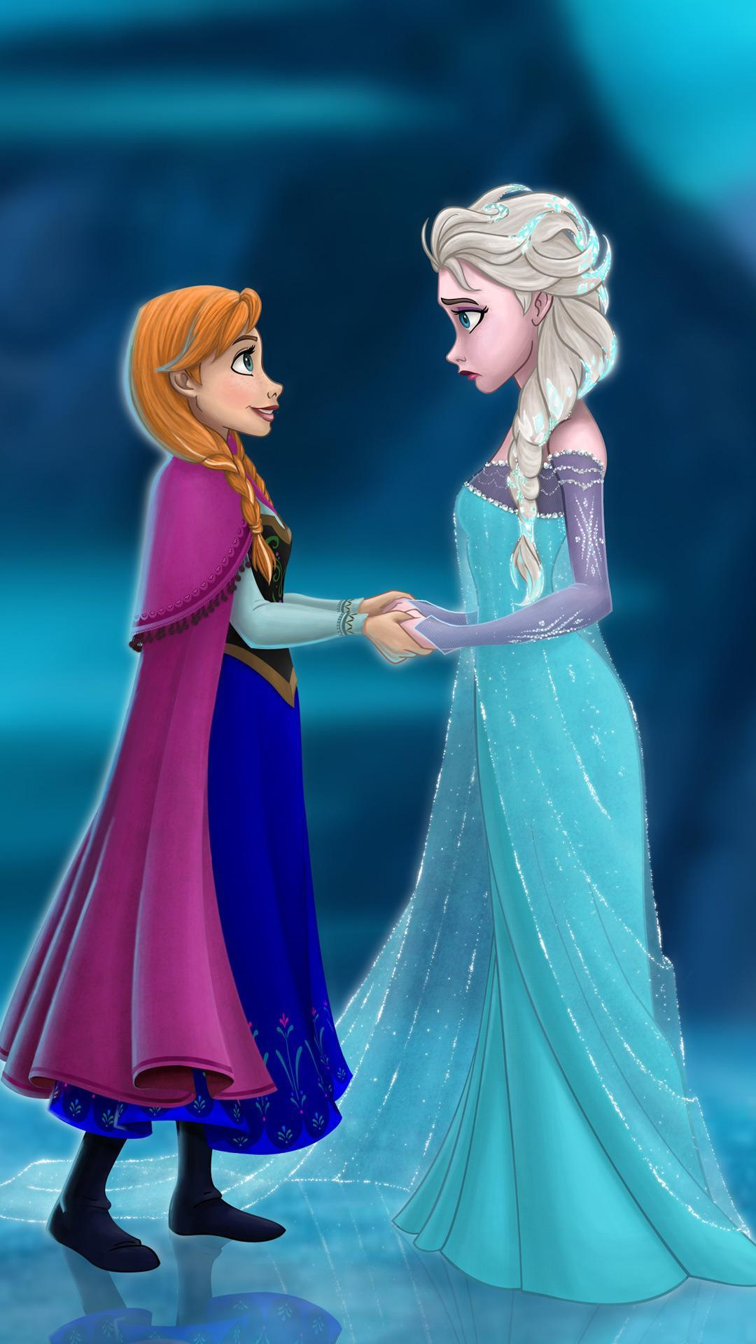 Frozen Wallpaper Anna And Elsa For Android Apk Download