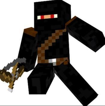 Ninja Skins For Minecraft PE APK Download Free Art Design APP - Ninja skins fur minecraft