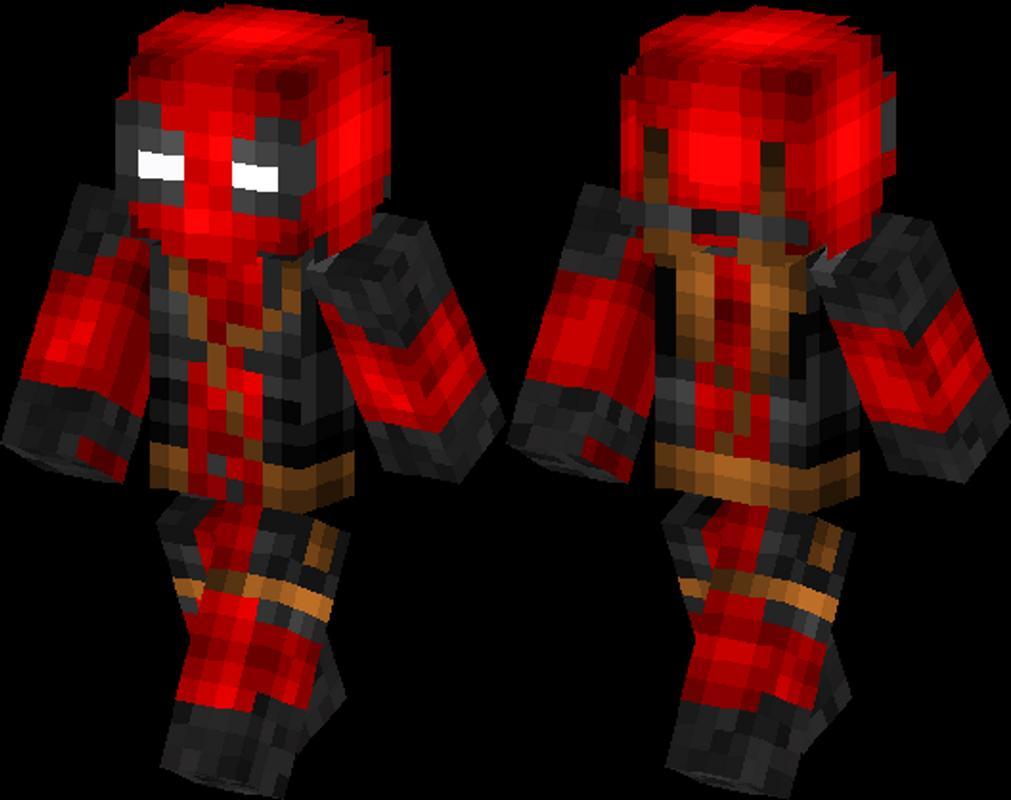 deadpool skin in minecraft