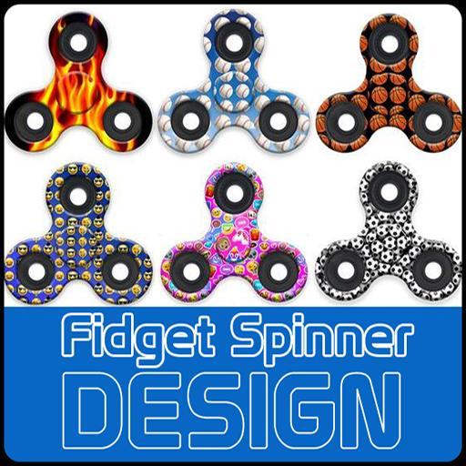 Fidget Spinner Designs poster