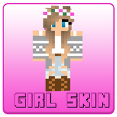Girl Skin For Minecraft PE icon