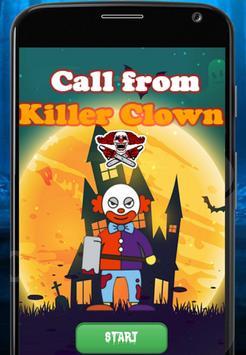 Fake Call Killer baby clown poster