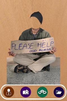 Beggar Suit Photo Camera poster