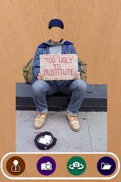 Beggar Suit Photo Camera apk screenshot