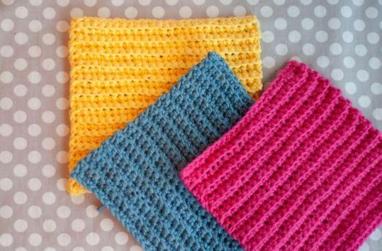 beginner crochet tutorials poster
