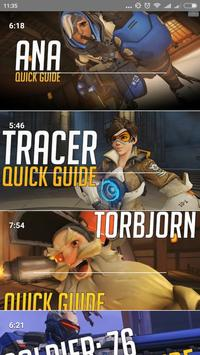 Guide for Overwatch 2018 poster