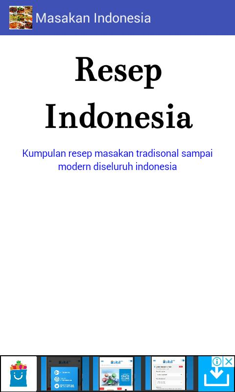 Resep Masakan Indonesia For Android Apk Download