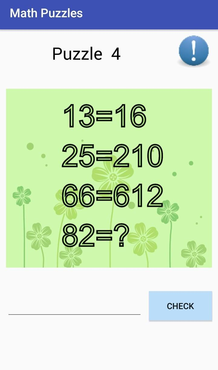 FREE Math Riddles and Puzzles 2019 for Android - APK Download