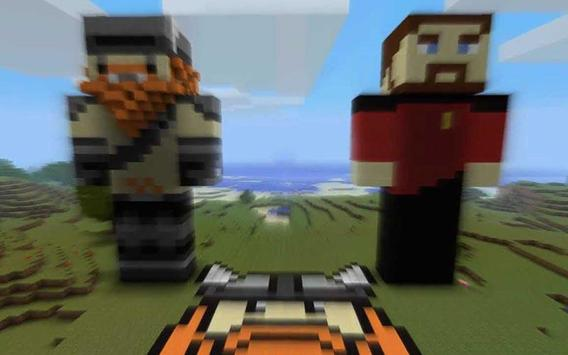 YOGSCAST Lewis & Simon Skin For MCPE screenshot 1