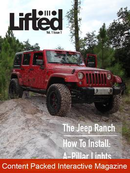 Lifted Jeep Magazine poster