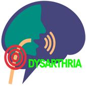 dysarthria disease icon