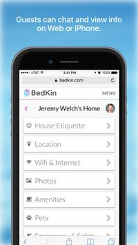 BedKin – Private Homesharing screenshot 4