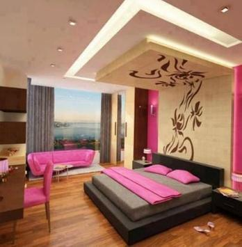 Bedroom ceiling design ideas poster