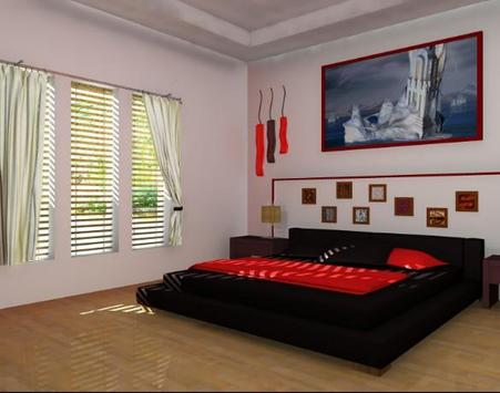 3d bedroom designer apk screenshot