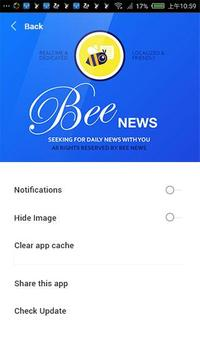 BEE NEWS poster